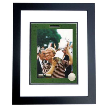 Jack Nicklaus Unsigned - Us Open Trophy - 8X10 Inch Photo Black Custom Frame
