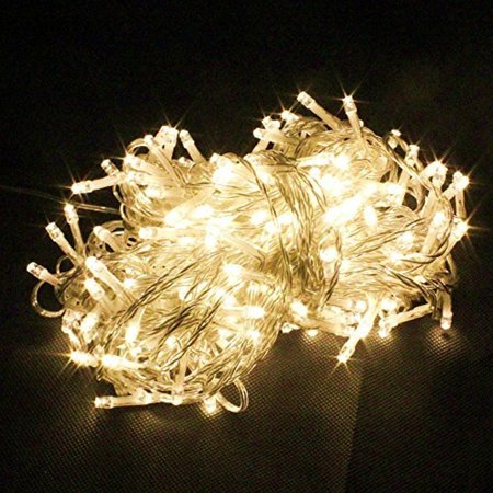 Perfect Holiday 100 LED String Fairy Light - Warm - Holiday Light Mounting
