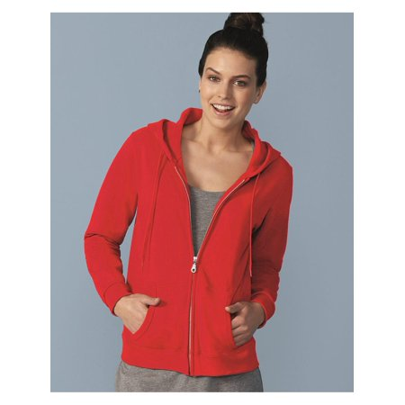 - Gildan Fleece Heavy Blend Women's Full-Zip Hooded Sweatshirt