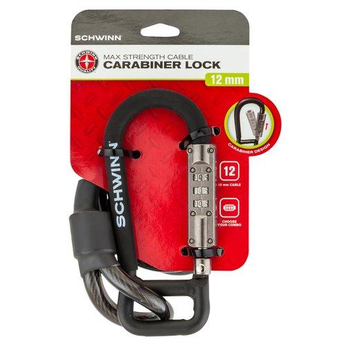 Schwinn 12mm Carabiner Lock