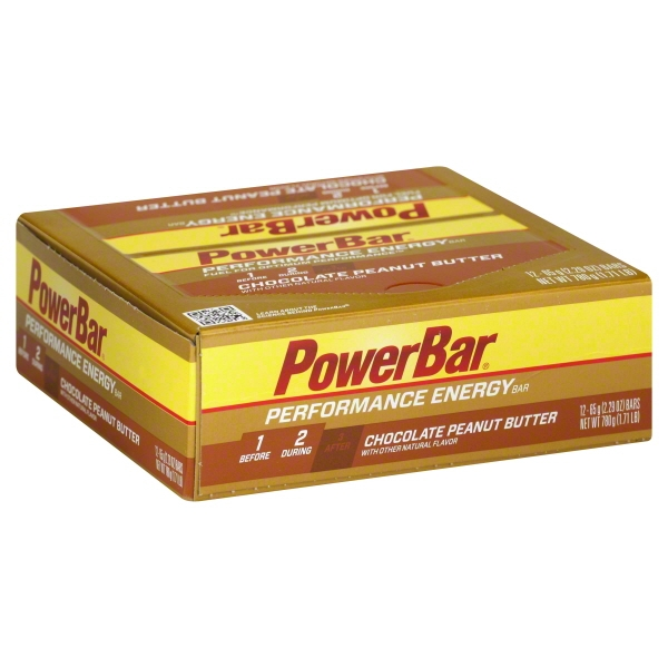 PowerBar® Chocolate Peanut Butter Performance Energy Bar 12-2.29 oz. Wrappers