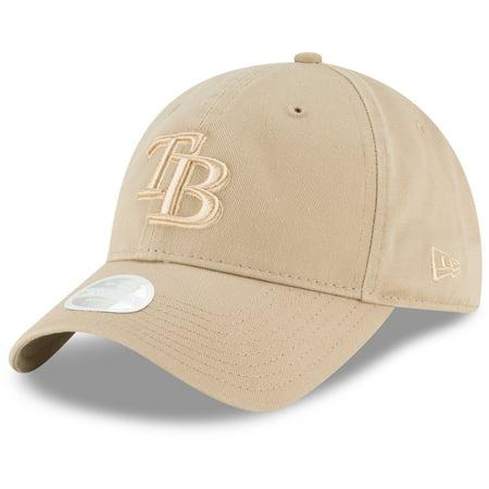 - Tampa Bay Rays New Era Women's Core Classic Twill 9TWENTY Camel Adjustable Hat - Brown - OSFA