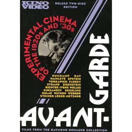 Avant Garde: Experimental Cinema Of The 1920s & 30s (Films Of The 1920s)