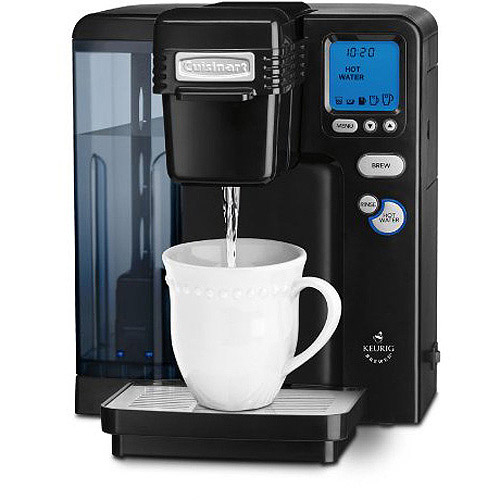 Cuisinart Single Serve Brewing System - Powered by Keurig, Black