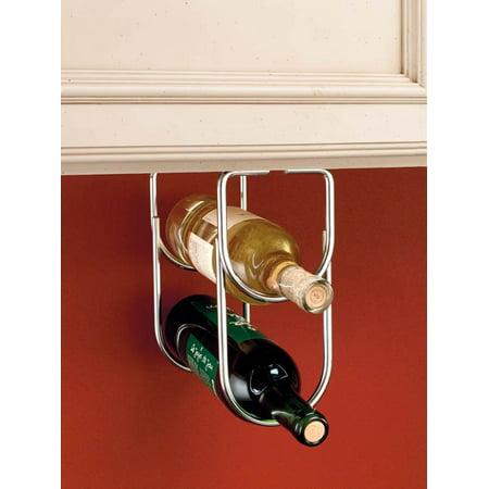 Rev-A-Shelf - 3250CR - Chrome Under Cabinet Double Wine Bottle Rack Bottle Chrome Wine Rack