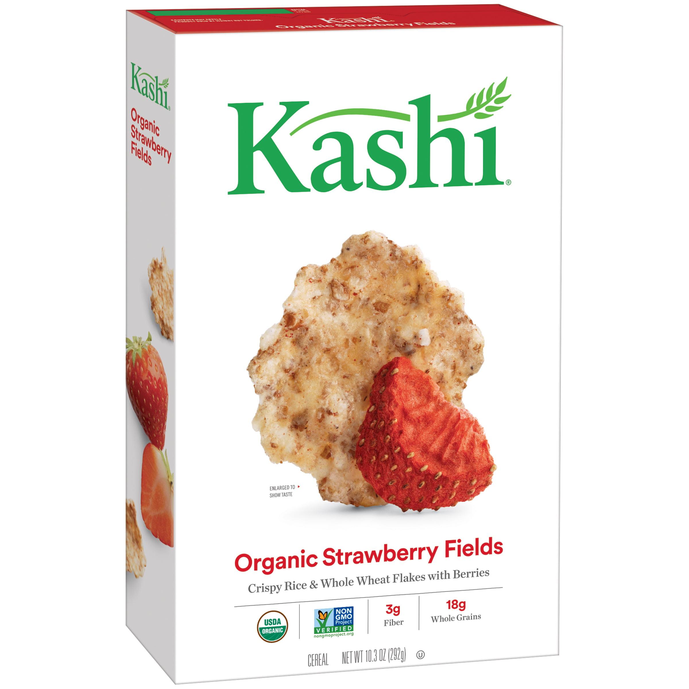 (2 Pack) Kashi Organic Breakfast Cereal, Strawberry Fields, 10.3 Oz
