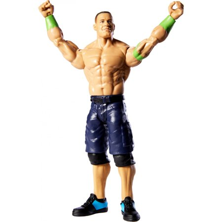 WWE Top Picks John Cena 6-Inch Action Figure with Life-Like Details (Wwe Action Figures Vickie)