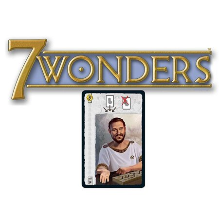 7 Wonders Board Game Promo: Wil Wheaton Leader (2014 International Tabletop Day) ()
