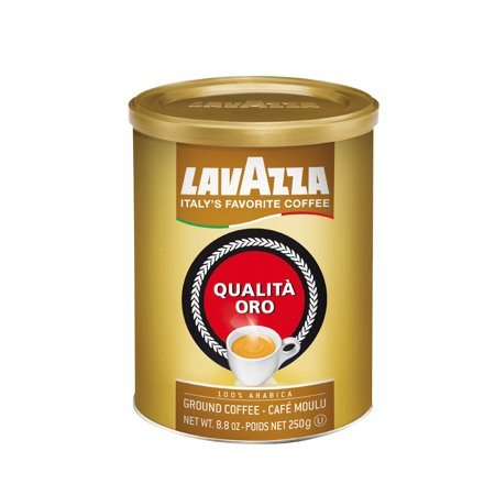 Lavazza  Qualita Oro Ground Coffee  8 8 Oz