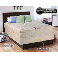 "Dream Solutions Gentle Firm Pillow Top 10"" Mattress and Box Spring Set"