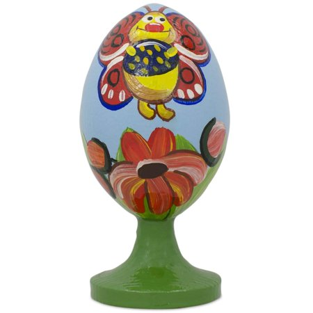 Butterfly Wooden Easter Egg
