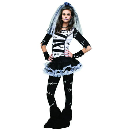Monster Bride Teen Halloween Costume - One Size](Frankenstein's Bride Halloween)