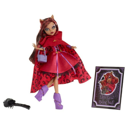Monster High Scarily Ever After Doll Little Dead Riding Wolf (Clawdeen Wolf)