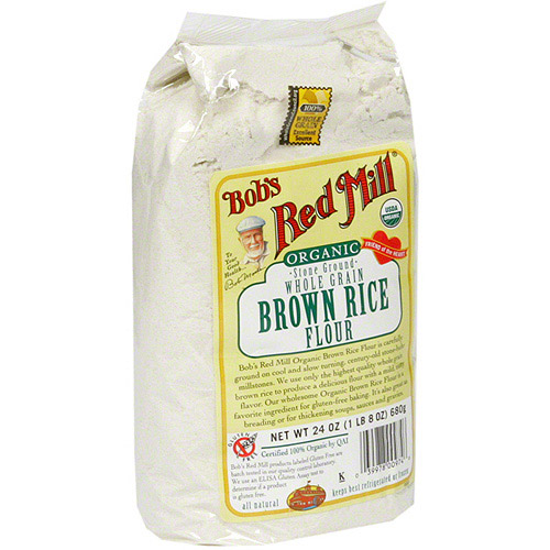 Bob's Red Mill Brown Rice Flour, 24 oz (Pack of 4)