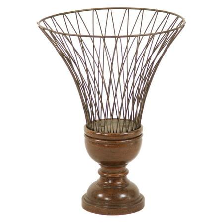Distinctive Designs Wire Urn Table Vase - Set of