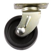 """Waxman Consumer Group 4265595N 1-5/8"""" Swivel Plate Roller Caster, 2 Count"""