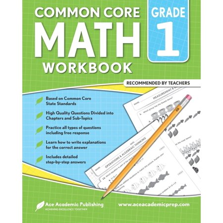 1st Grade Math Workbook: Commoncore Math Workbook (Paperback)](Halloween Math Lesson Plans For First Grade)