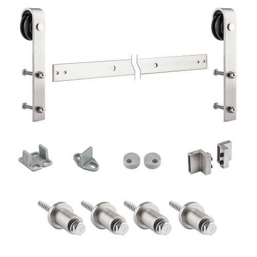 National Hardware N186-960 72 Inch Interior Sliding Barn Door Hardware