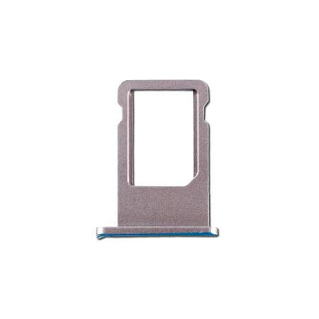 SIM Card Tray for Apple iPhone 6 - Silver (A1549, A1586, A1589) (Htc One Sim Card Tray)