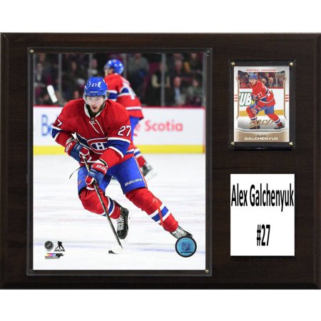 C   I Collectables Nhl 12  X 15  Alex Galchenyuk Montreal Canadiens Player Plaque