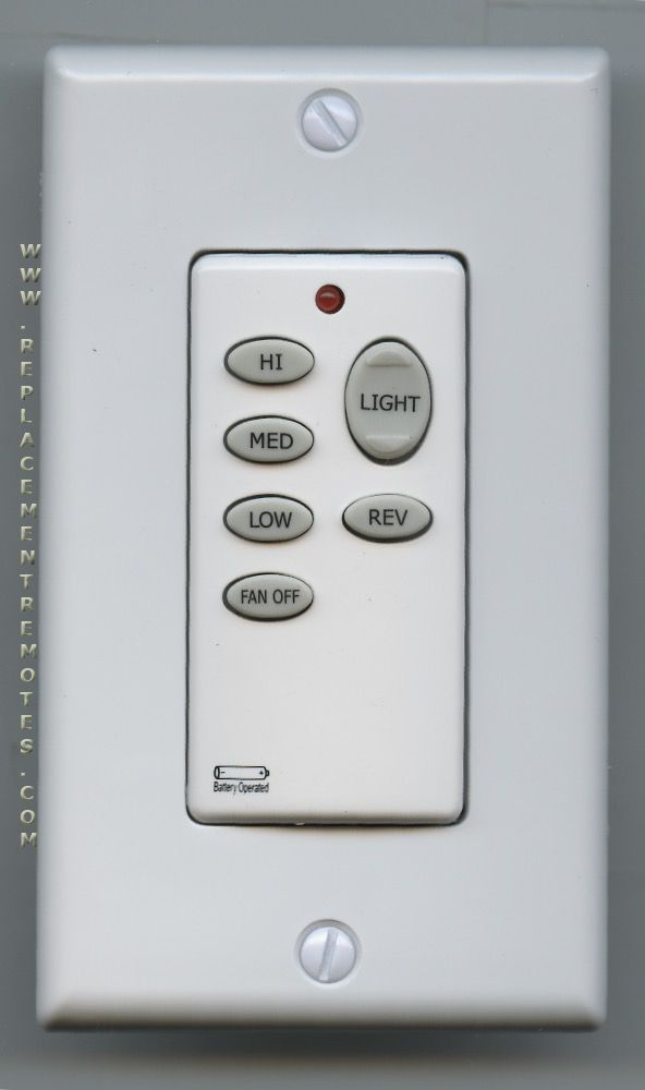ANDERIC CHQ9051T for Hampton Bay (p n: UC9051T) Ceiling Fan Remote Control (New) by