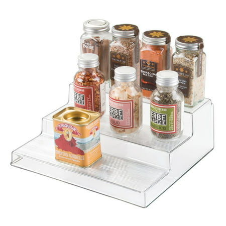 InterDesign Linus Cabinet Organizer 3-Tier, Clear