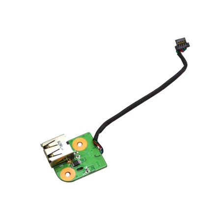 DD0AT9THC00 HP DV9000 Laptop USB Port Board w/Cable  I/O Boards- Video Audio USB IR DC TV PWR - Used Like