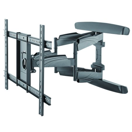 Monster Mounts Large Premium Full Motion TV Wall Mount for 42-75