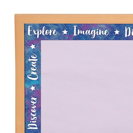 Thanksgiving Bulletin Board Decorations (Fun Express - Galaxy Straight Bb Borders - Educational - Classroom Decorations - Bulletin Board Decor - 12)