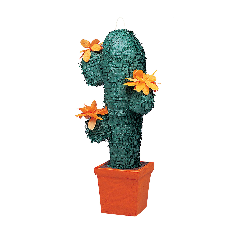 Cactus Pinata, 25 x 11 in, 1ct