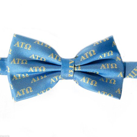 Alpha Tau Omega Ato Letter Bow Tie  Pre Tied    Brand New Product