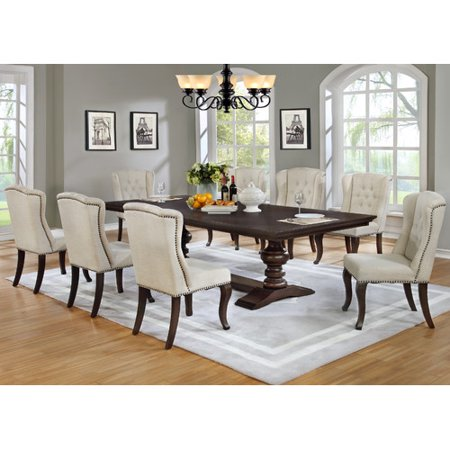 Best quality furniture 9 piece dining set for Best quality dining tables