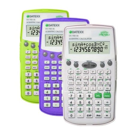 Teledex Ds 700 2 Line Lcd Display 224 Function  Scientific With Equation  Fraction Calculation