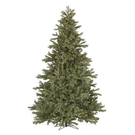 Vickerman 9 Frasier Fir Artificial Christmas Tree with 1200 Warm White LED Lights