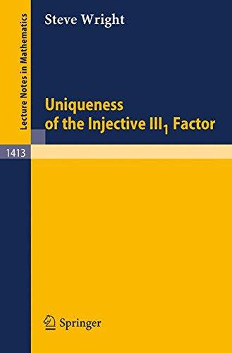 Uniqueness of the Injective III-1 Factor