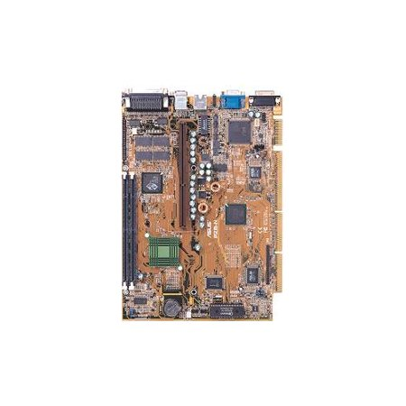 Asus P2b N Intel 100Mhz 440Bx Agp Chipset With Riser Card  Supports Celeron And Pentium Ii 266 To 450Mhz Cpus  Onboard Audio And Lan 2Dimm Sockets  2 Pci  1 Isa  1 Shared  Slot S   Nlx Form Factor