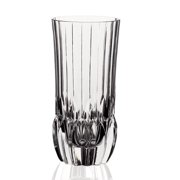 Lorren Home Trends Adagio 11 oz. Crystal Drinking Glass (Set of 6)