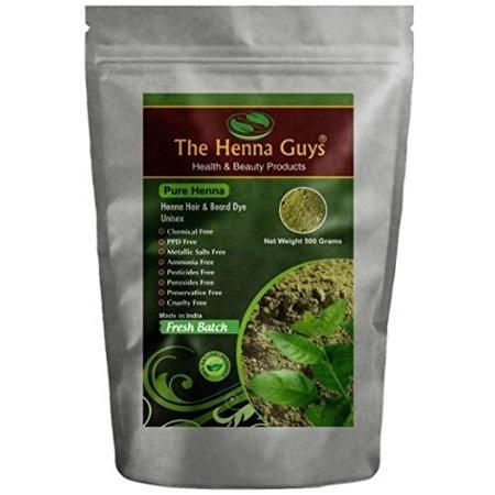 500 Grams / 17.65 Oz 100% Pure & natural henna powder - The Henna Guys (Natural Henna Powders)