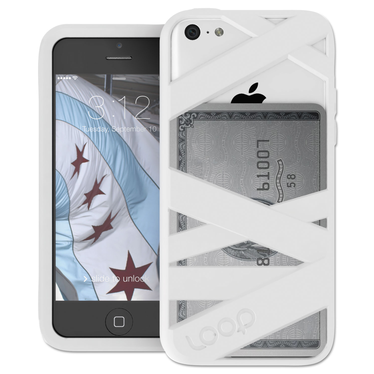 Mummy Case for iPhone 5c, White