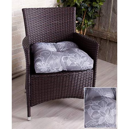 The Lakeside Collection 3-Pc. Outdoor Cushion Set Gray Floral ()