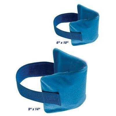 SmartTemp Hot/Cold Therapy Compress Combo, Large & Small, Blue, 1 Pair