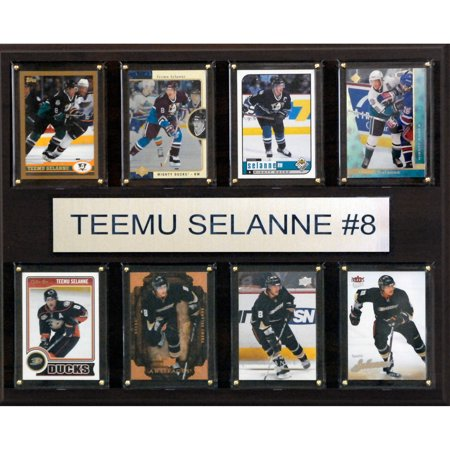 C&I Collectables NHL 12x15 Teemu Selanne Anaheim Ducks 8-Card Plaque