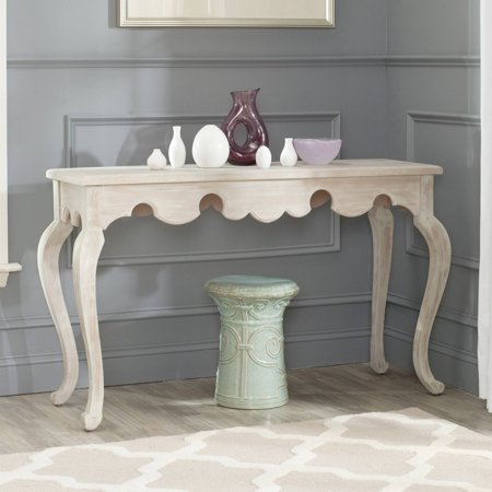 Safavieh Becky 50   Console  Weathered White