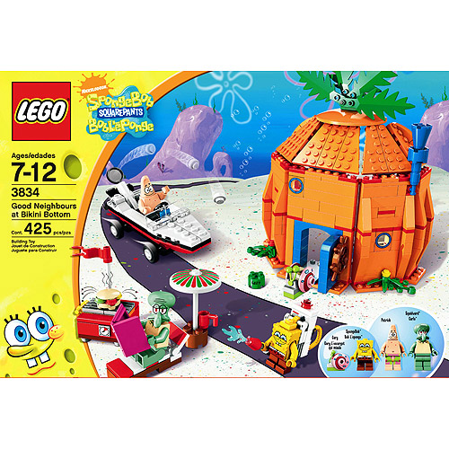 Lego Spongebob Squarepants Good Neighbors at Bikini Bottom Set #3834 by