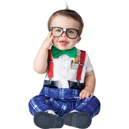 Infant Nursery Nerd Costume by Incharacter Costumes LLC - Nerd Candy Halloween Costume