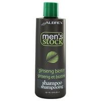 Aubrey Organics - Men's Stock Ginseng Biotin Shampoo - 8 oz.