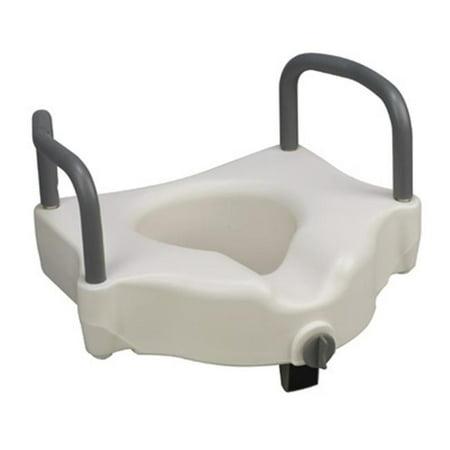 Mabis 522 1511 1900 Hi Riser Locking Raised Toilet Seat