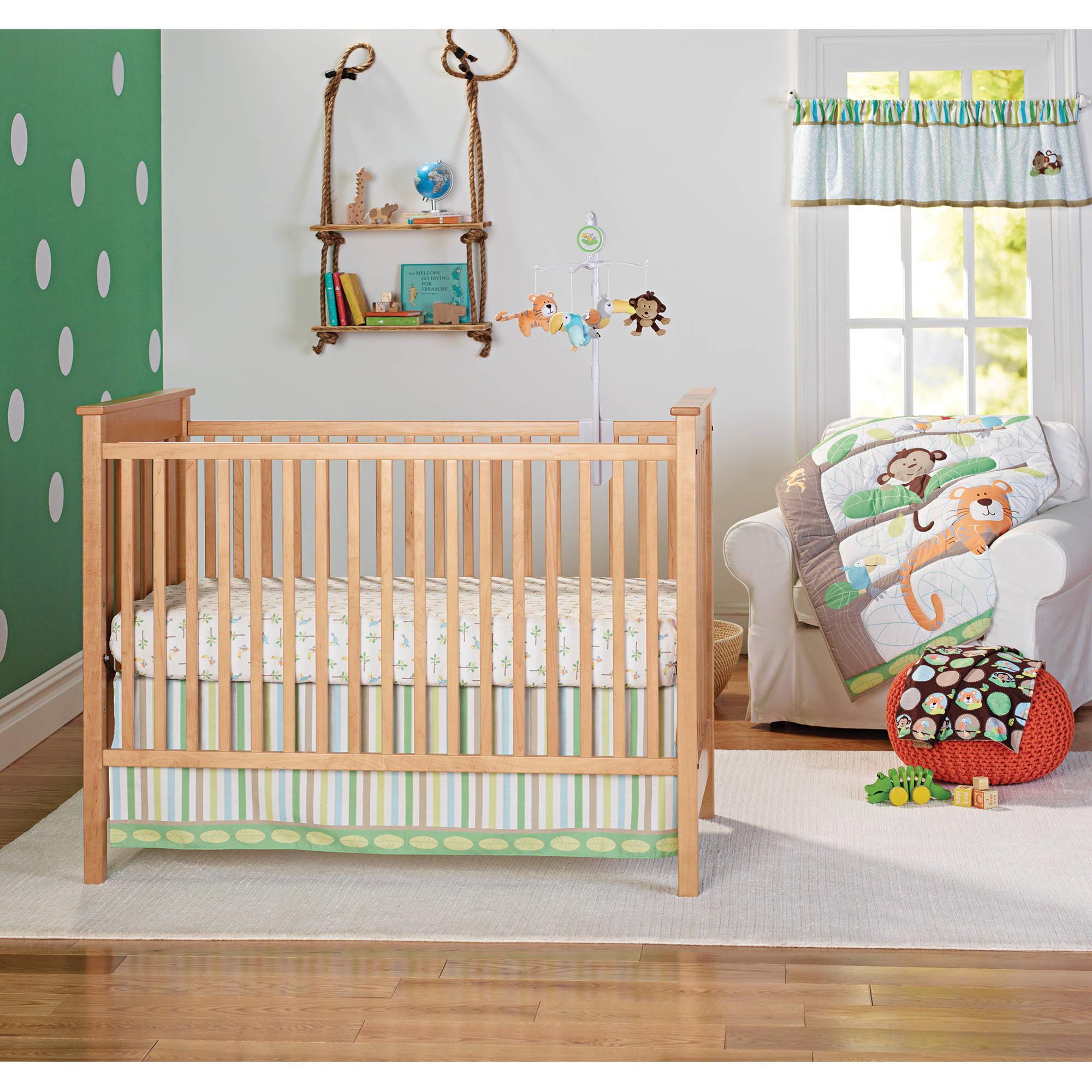Garanimals Tropical Tree Top 3-Piece Crib Bedding Set