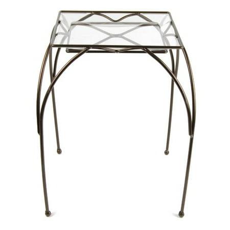 Plastec Square Table Plant Stand ()