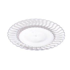 Fineline Settings, Inc Flairware Round Rippled Disposable Plastic ...